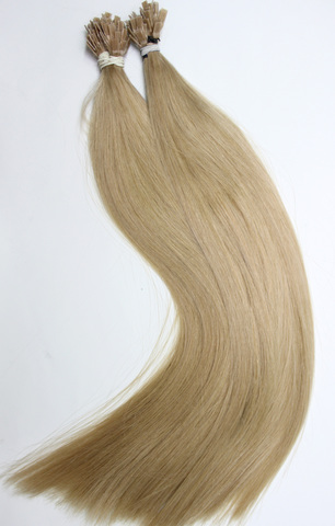 Волосы на плоских кератиновых капсулах,цвет 23( 2 КЛАСС)-50 СМ-101 шт
