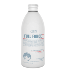 OLLIN full force тонизирующий шампунь с экстрактом пурпурного женьшеня 300мл