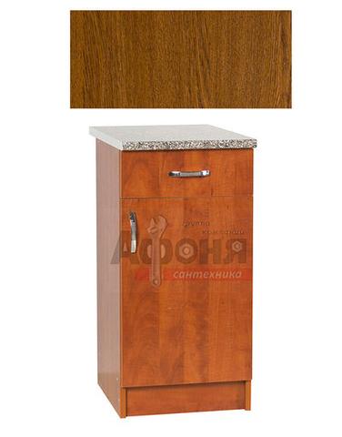 Рабочий стол  40 цвет дуб-рустик (1ящик),стол. ГРАНИТ (ЛДСП)