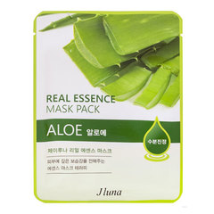 Juno Real Essence Mask Pack - Маска тканевая с алоэ