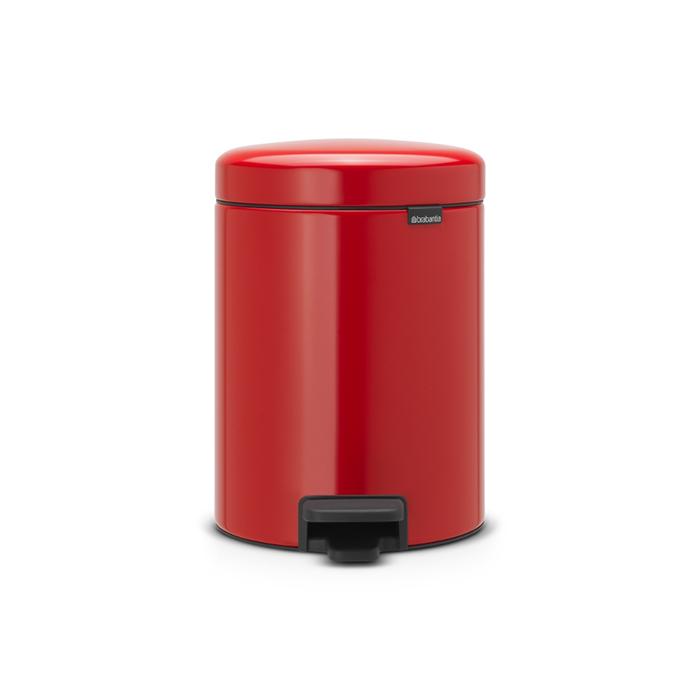 Мусорный бак newIcon (5 л), Пламенно-красный, арт. 112089 - фото 1