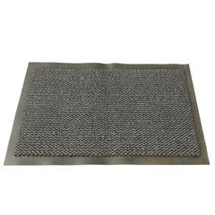 Ковер входной грязезащитный ворсовый на ПВХ основе(600х900х5мм,серый)