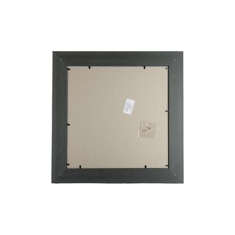 Фоторамка Ампир (с паспарту) 40х40 Формат-А (серебро) (2 - 10x15 и 2 - 15x21)