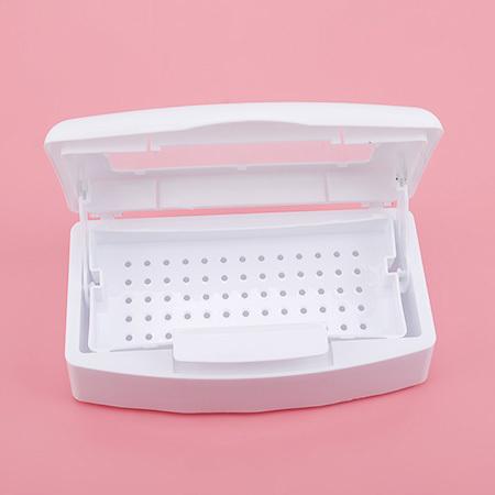 Patrisa Nail, Контейнер для дезинфекции инструментов, пластиковый, прозрачная крышка (фото 2)