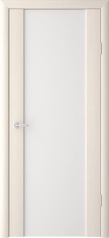Дверь Фрегат ALBERO Сан-Ремо 1, стекло триплекс белый, цвет лиственница мокко, остекленная