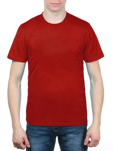 3366-10 футболка мужская, красная
