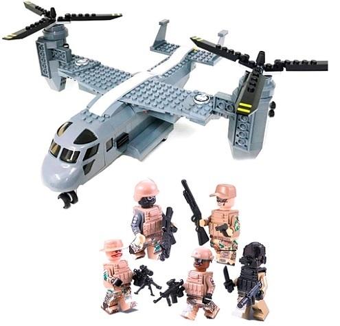 Конструктор серия Армия Американский конвертоплан