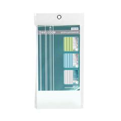 Штора для ванной РЕ однотонная, цвета в ассортименте, 180х180см, 20шт.