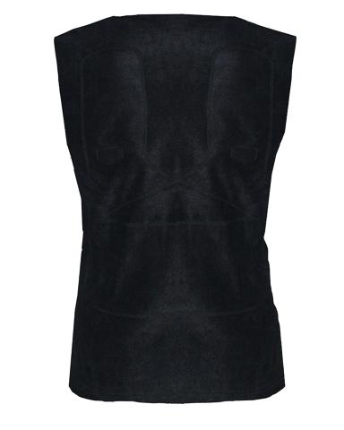 Жилет флисовый с подогревом RedLaika RL-03-A2 (чёрный) с двумя греющими элементами