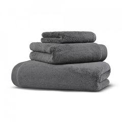Полотенце махровое 100x180 Hamam Olympia темно-серое