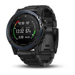 Умные часы для дайвинга Garmin Descent MK1 серые с титановым DLC ремешком 010-01760-11