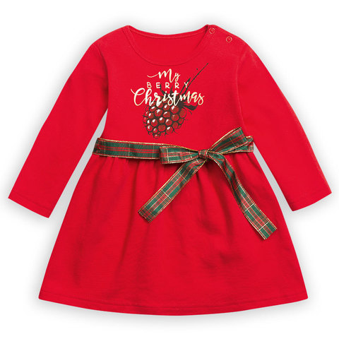 Pelican GFDJ1088 Платье для девочек малиновое
