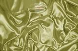 Ткань метражом Silky (оливковый) люкс-сатен однотонный
