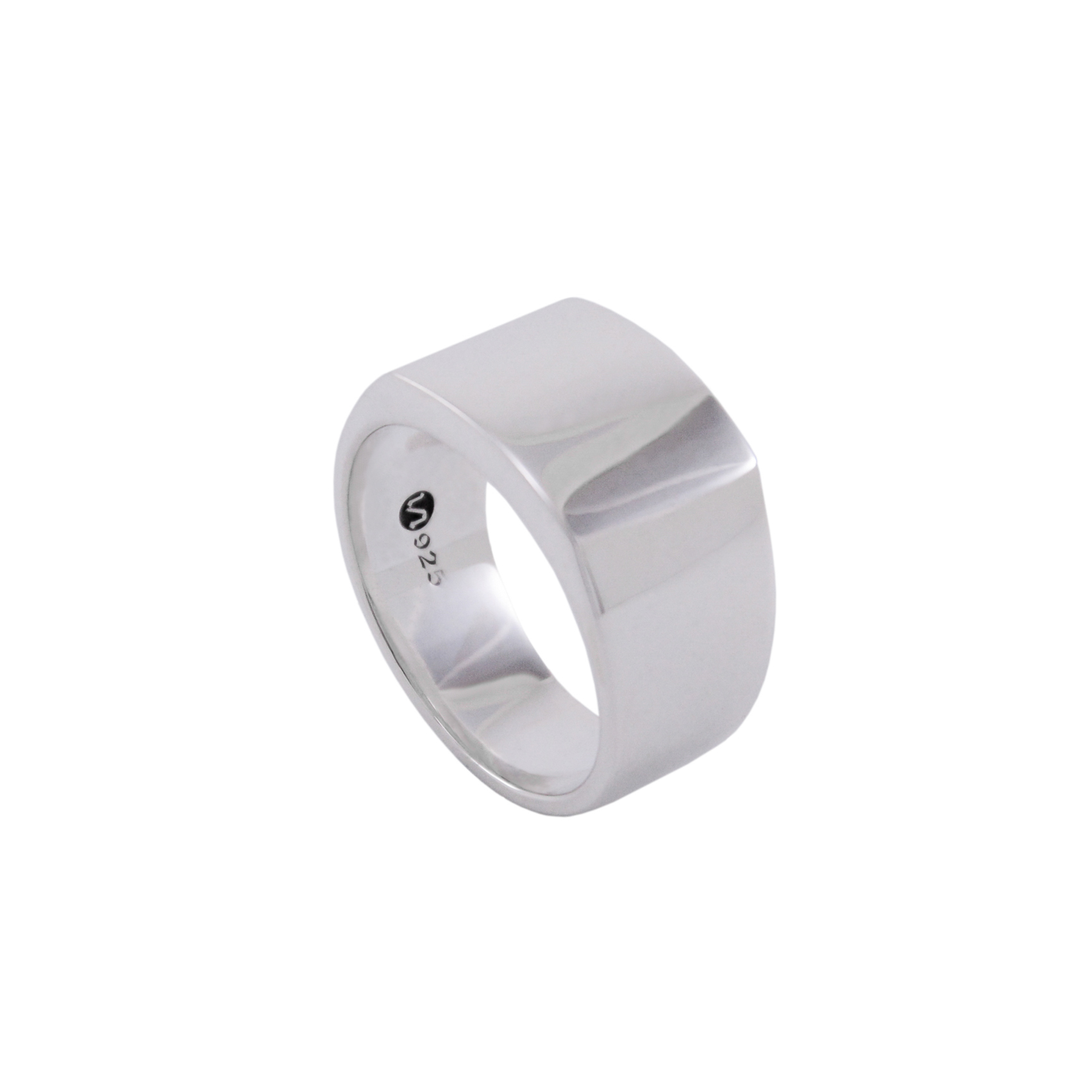 SIGNET RING II - WHITE