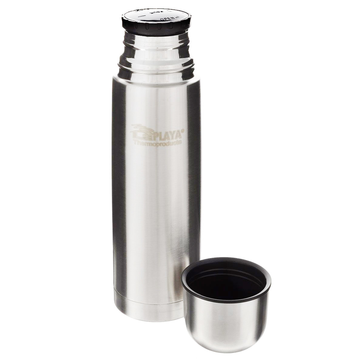 Термос LaPlaya Thermo Bottle Action (1 литр), серебристый