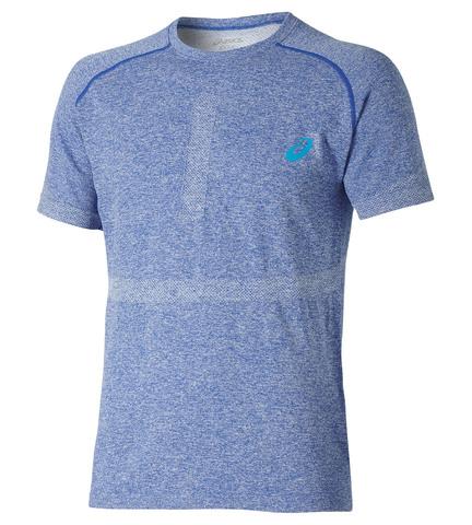 Спортивная футболка Asics Seamless Top мужская голубая