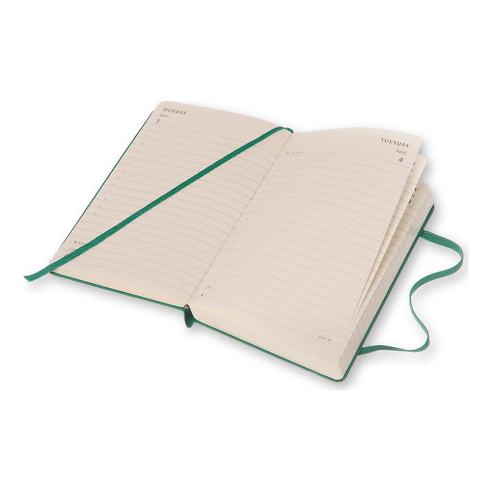 Ежедневник Moleskine Classic Daily Large, цвет зеленый малахит