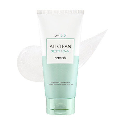 Heimish All Clean Green Foam 150g/Heimish Пенка для умывания с pH 5.5 All Clean Green Foam 150мл