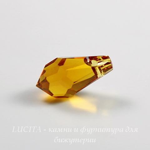 6000 Подвеска Сваровски Drop Topaz (11х5,5 мм)