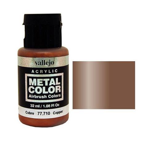 710 Краска Metal Color Медь (Copper) укрывистый, 32 мл