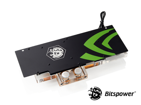 Водоблок Bitspower Nvidia GTX 1080 Ti Founder Edition Acrylic (Clear)
