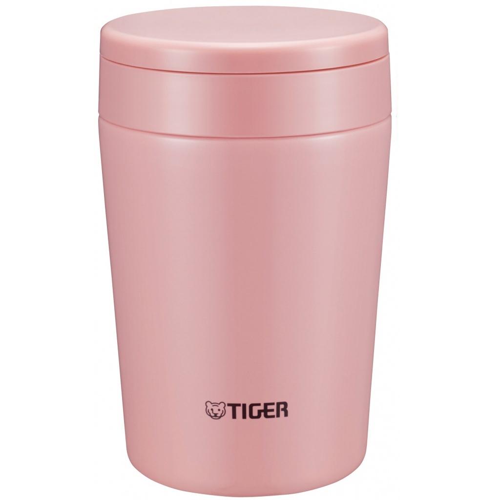Термос для еды Tiger MCL-A (0,38 литра), розовый