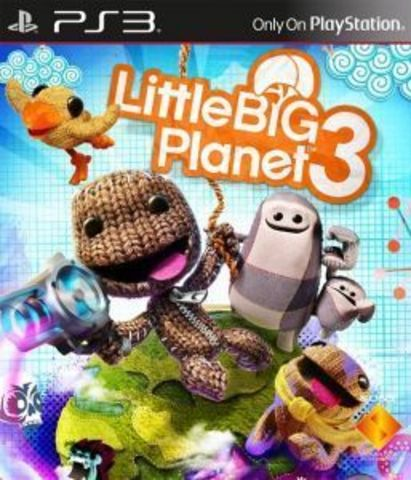 Sony PS3 LittleBigPlanet 3 (русская версия)