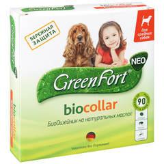 Ошейник Био GreenFort neo для средних собак /G205/G204