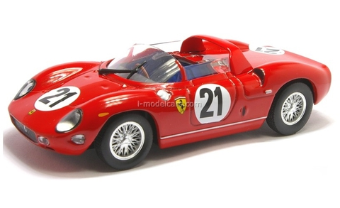 Ferrari 250 P #21 red 1:43 Eaglemoss Ferrari Collection #43