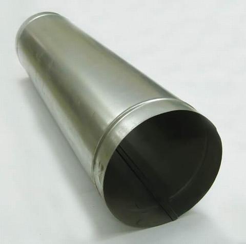 Труба прямошовная d 120 (1м) оцинкованная сталь