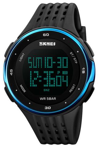 Часы SKMEI 1219 - Черный + Синий