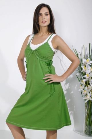 Платье 05604 зеленый