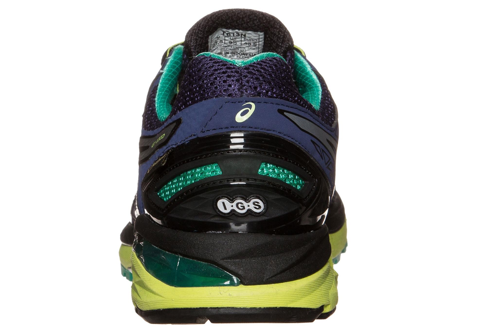Мужские беговые кроссовки Asics GT-2000 4 GT-X (T613N 5093) синие фото пятка