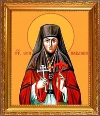 Ева Павлова игумения преподобномученица. Икона на холсте.