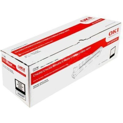 OKI C9600/C9650/C9655/9800/C9850 Drum-unit black (черный) - фотобарабан (42918108) Ресурс 30000 страниц.