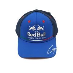Кепка с вышитым логотипом Астон Мартин Ред Булл Формула 1 (Бейсболка Aston Martin Red Bull scuderia toro Rosso F1) синяя
