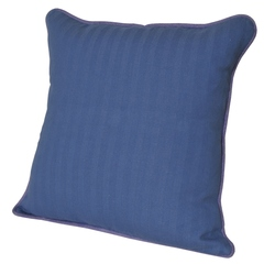 Элитная подушка декоративная Rhode Island Plain синяя от Casual Avenue