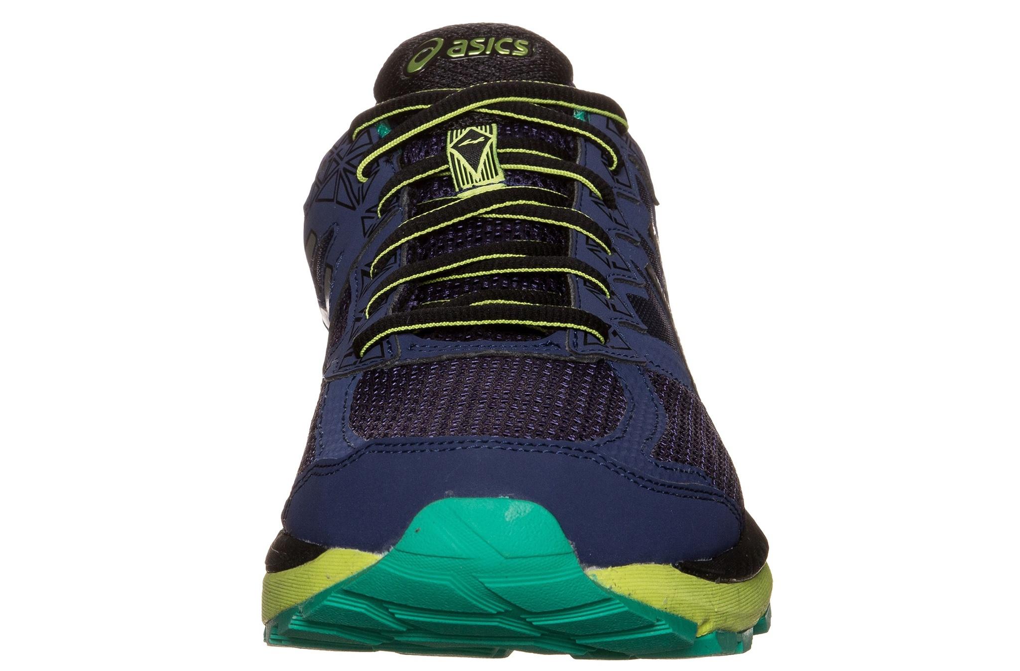 Мужские беговые кроссовки Asics GT-2000 4 GT-X (T613N 5093) синие фото нос