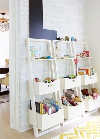 удобный стеллаж для игрушек