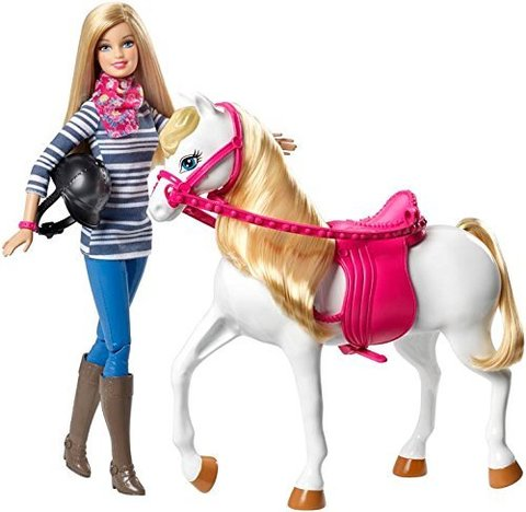Кукла Барби на Лошади - Barbie Doll and Horse, Mattel