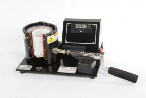 Термопресс для кружек вертикальный с электронным управлением.