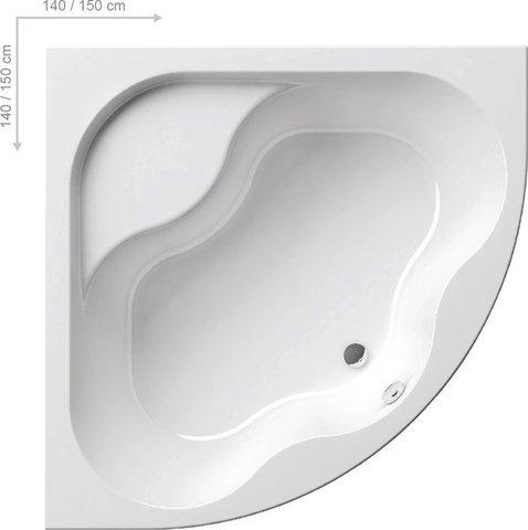 Акриловая ванна Ravak MAGNOLIA 170 x75 белая