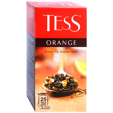"""Чай черный """"Tess"""" Orange 25*1,5г"""