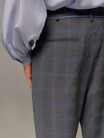 Женские серые брюки Eleventy - фото 4