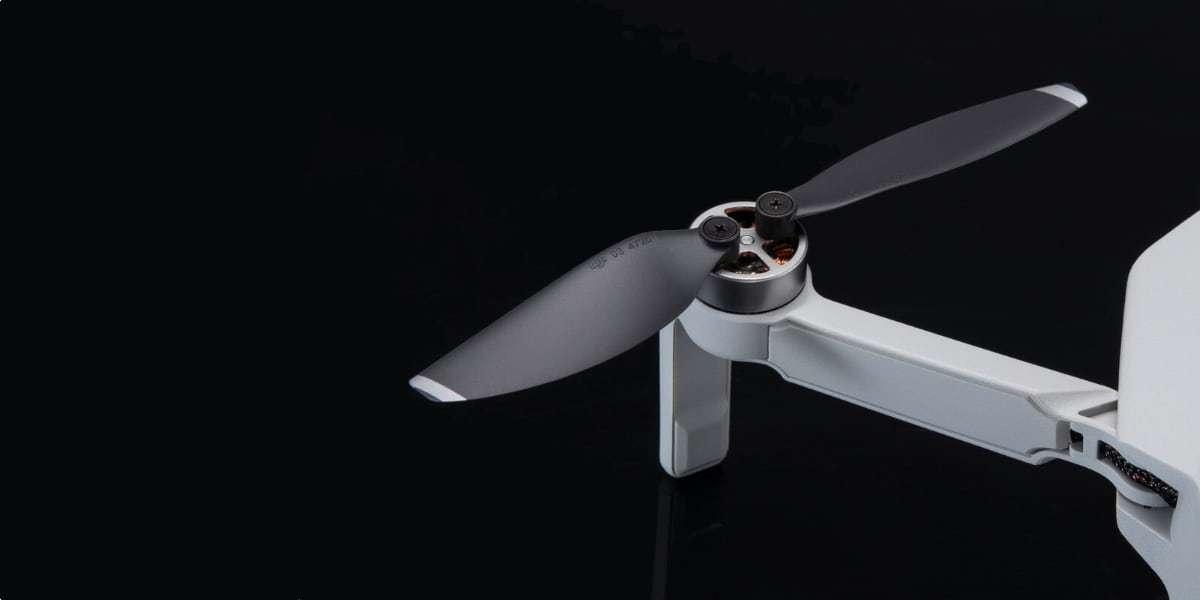 Пропеллеры Mavic Mini Propellers Set (Part 2) на дроне