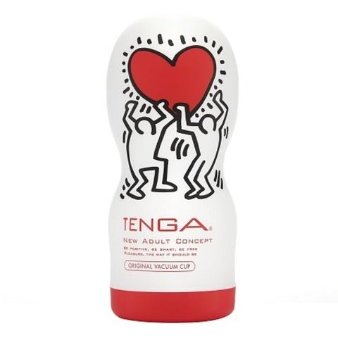 Мастурбатор Keith Haring - Vacuum Cup (Tenga)