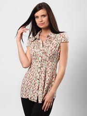 4506-2 рубашка женская, белая