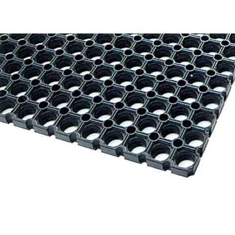 Покрытие резиновое универсальное (500х1000х14мм,черный)