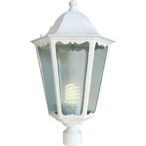 Светильник садово-парковый, 60W 230V E27 белый, 6103 (Feron)
