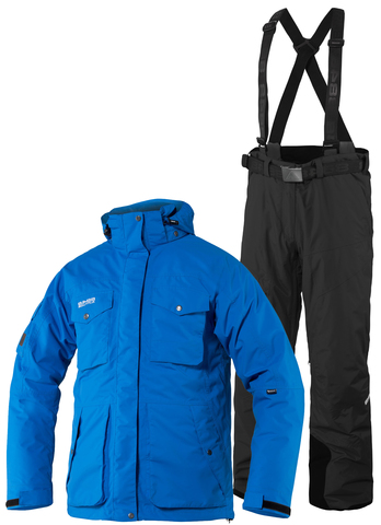 Тёплый зимний мемранный костюм 8848 Altitude Bruson Blue